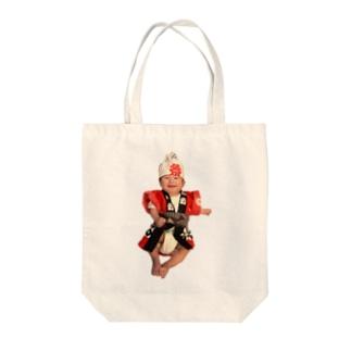 がんばれコッちゃん Tote bags