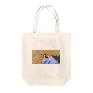 299円のサンダルさね〜 Tote bags