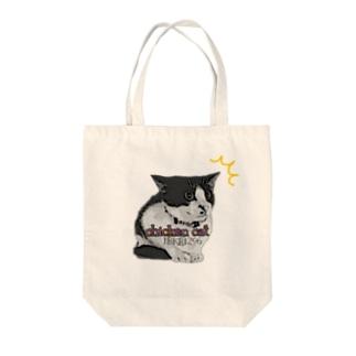 チキンキャット〜ビビり猫〜 Tote bags