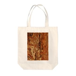 落書きツリー Tote bags