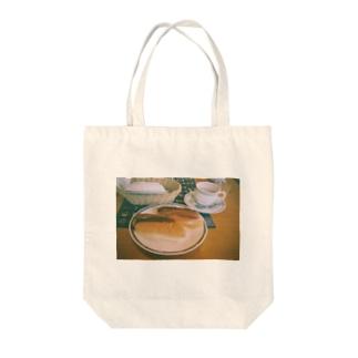 モーニング Tote bags