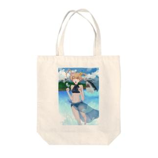 umi-girl Tote bags