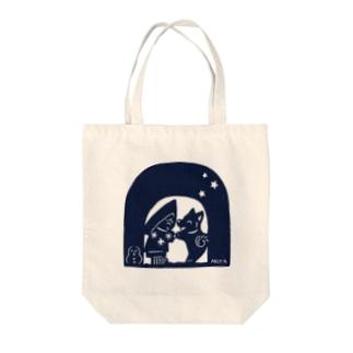 かまくら Tote bags