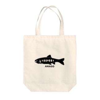 AMAGOグッズ Tote bags
