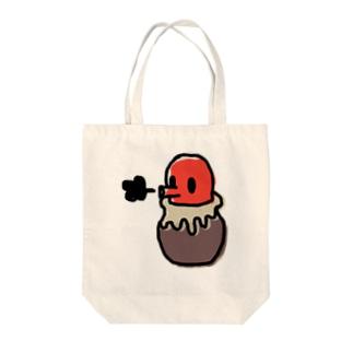 タコサッカー05 Tote bags