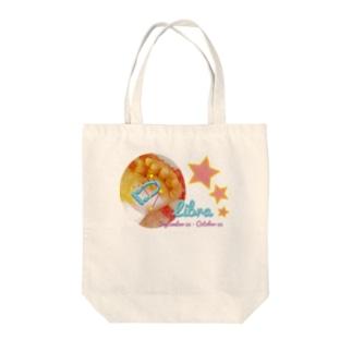 Libra-てんびん座-ハッピーベイビーハンズ- Tote bags