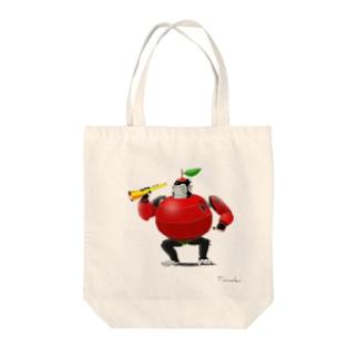リンゴリラッパンツ号 Tote bags