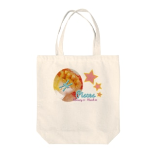 Pisces-うお座-ハッピーベイビーハンズ- Tote bags