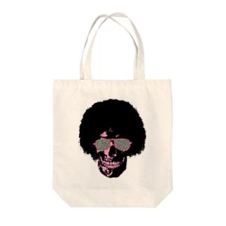 Funky Skull!!!! Tote bags