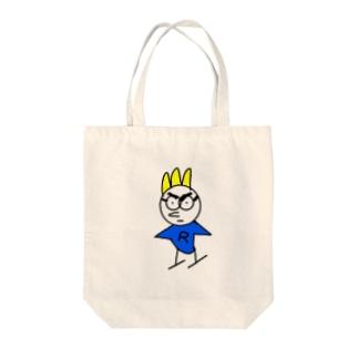 トリニンR Tote bags