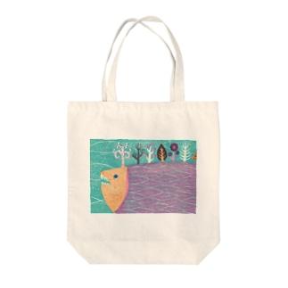 さかなの森 Tote bags