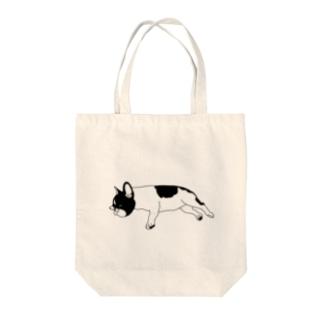 よく寝るフレンチブルドッグ Tote Bag