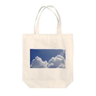 入道雲2 Tote bags