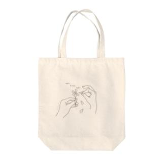 花占い suki kirai suki Tote bags