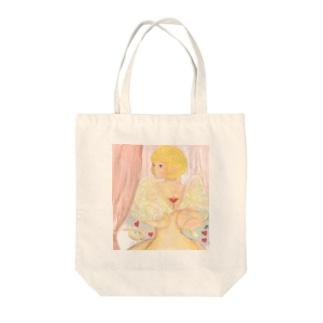 恋のキューピット Tote bags