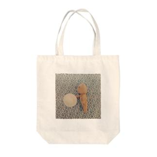 くまのnobi Tote bags