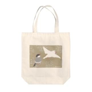 ぶんちょう 屏風風 Tote bags