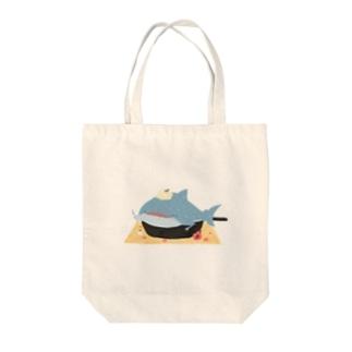 ぱふんぱふんジンベイケーキ Tote Bag