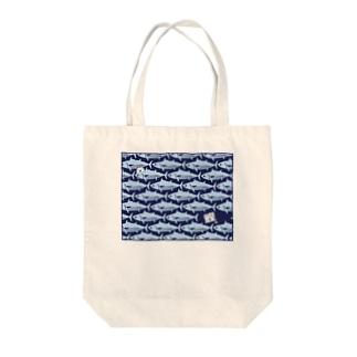 カツオ愛 Tote bags