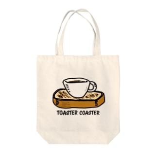 トースターコースター Tote bags