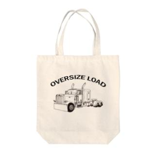 OVERSIZE LOAD トレーラー コンボイ Tote bags