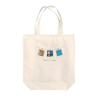 memories of summer Tote bags