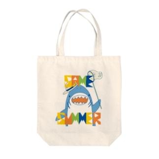 SAME_SUMMER Tote bags