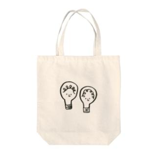 豆電球 Tote bags