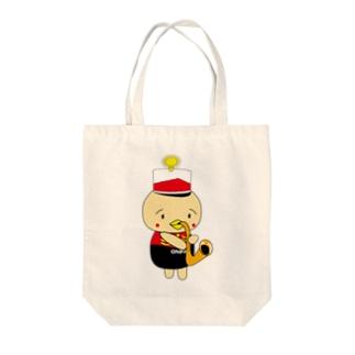オンパ サックス Tote bags