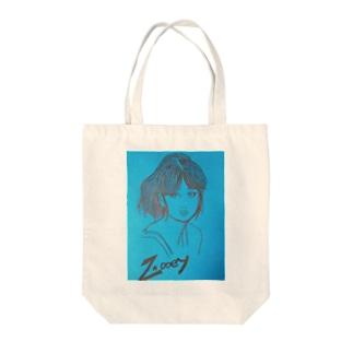hina0055のズーイー Tote bags
