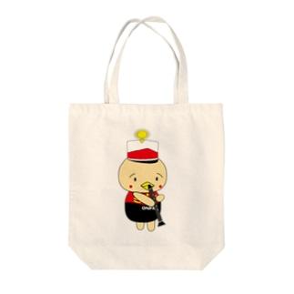 オンパ クラ Tote bags