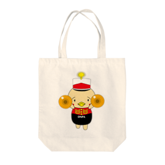高田万十のオンパ シンバル Tote bags