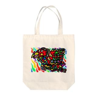 朱雀 Tote bags