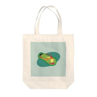 サンダル Tote bags