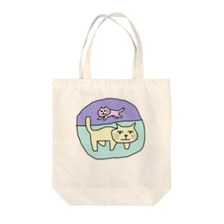 猫2。 Tote bags