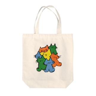 ねこまとめ Tote bags