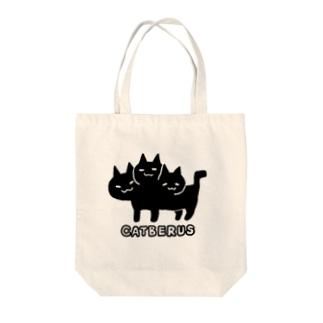 ネコベロスちゃん Tote bags