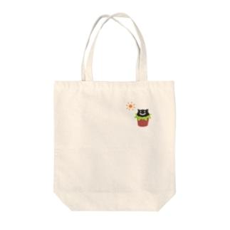 うえきねこ Tote Bag