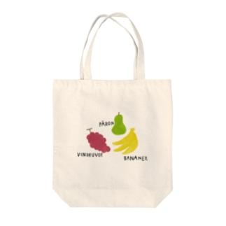 フルーツ Tote bags