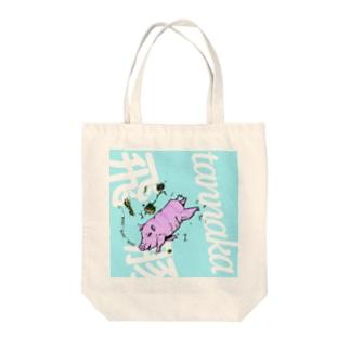 PIG(飛豚 夏) Tote bags