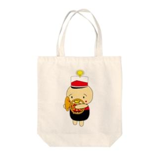 オンパ ホルン Tote bags