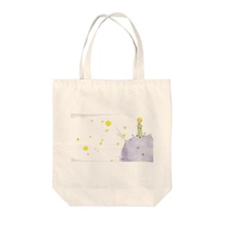 星の王子様 Tote bags