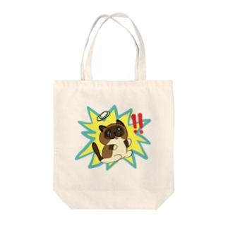 びっくりチョコ棒 Tote bags