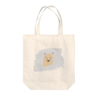 クマさん Tote bags