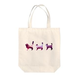 meow Tote bags