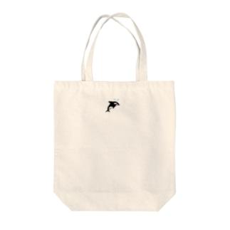 シャチのくぅちゃん Tote bags