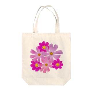 Flower コスモスA Tote bags