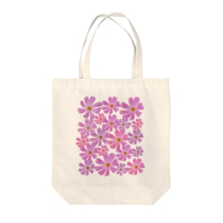 Flower コスモス Tote bags
