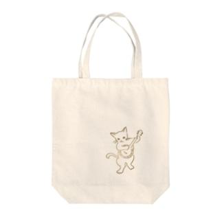 バンジョー弾く猫 1 Tote bags