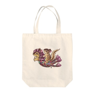 シマリスくんとアマビエちゃん Tote bags